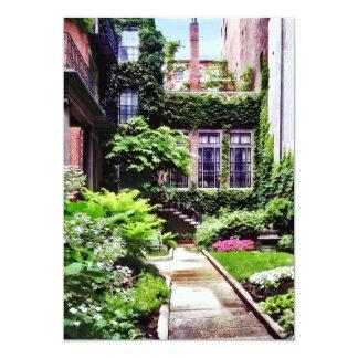Tarjeta Boston mA - Jardín ocultado