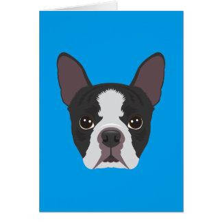 Tarjeta Boston Terrier