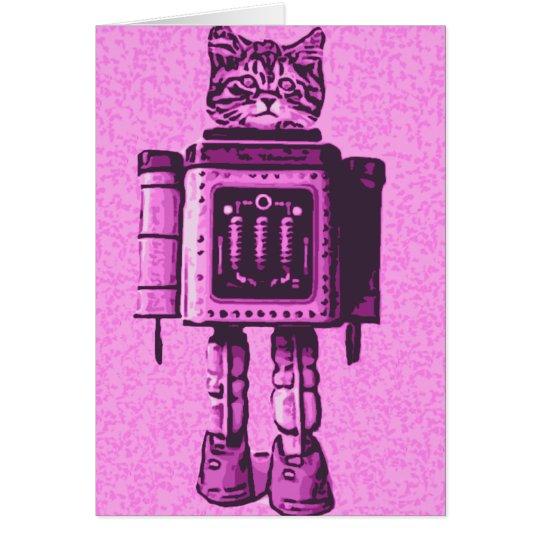 Tarjeta Bot 3000 del gato