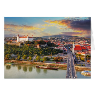 Tarjeta Bratislava, Eslovaquia