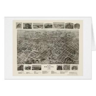 Tarjeta Bristol, mapa panorámico del TN - 1912