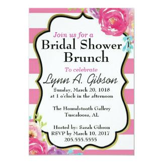 Tarjeta Brunch nupcial de la ducha