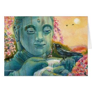Tarjeta Buda pacífico