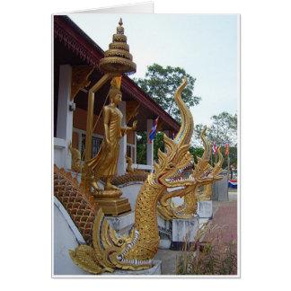 Tarjeta Buda y Naga