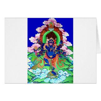 Tarjeta Buddhism tibetano Thangka budista Ucchusma