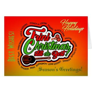 Tarjeta Buenas fiestas/navidad de Trini