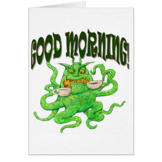 Tarjeta ¡Buenos días!