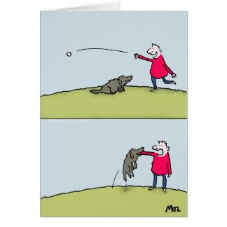 Tarjeta Búsqueda del perro