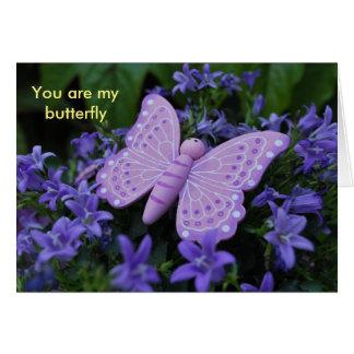 Tarjeta Butterfly