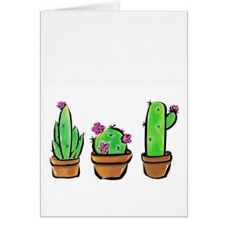 Tarjeta Cactus