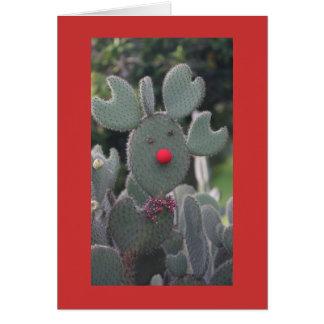 Tarjeta Cactus de Rudolph