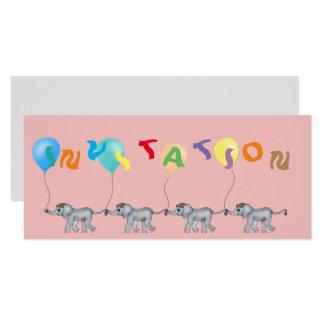 Tarjeta Cadena del elefante por los Happy Juul Company