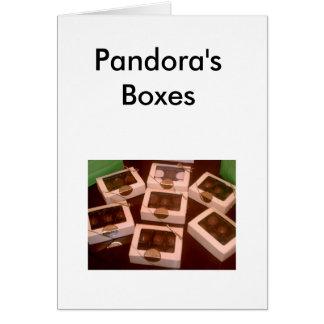 Tarjeta Cajas de Pandora