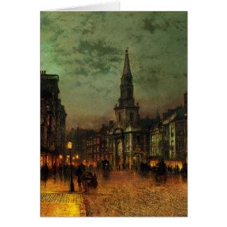Tarjeta Calle de Juan Atkinson Grimshaw- Blackman, Londres