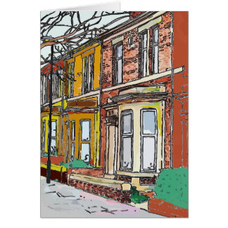 Tarjeta Calle de Philadelphia