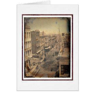 Tarjeta Calle de Sacramento - versión invertida (40089)
