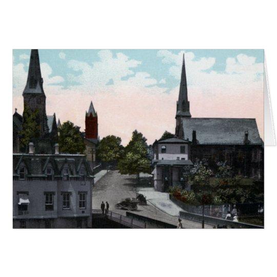 Tarjeta Calle el Cumberland Maryland 1910 de Washington