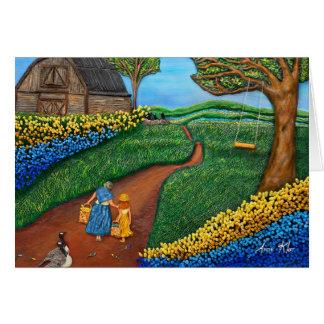 Tarjeta Camino al arce