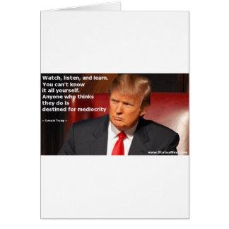 Tarjeta Camisa de Donald Trump, camisa política, elección