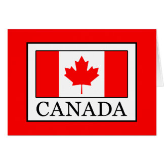 Tarjeta Canadá