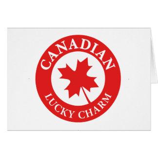 Tarjeta Canada Lucky Charm Luck ED. Series
