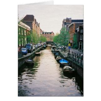 Tarjeta Canal 2 de Amsterdam