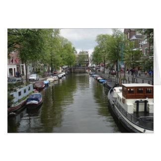 Tarjeta Canales de Amsterdam