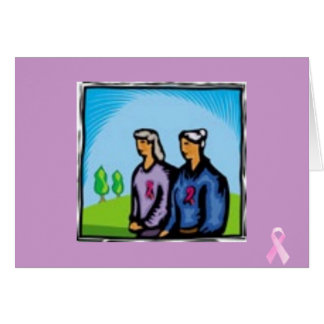 Tarjeta cáncer de pecho