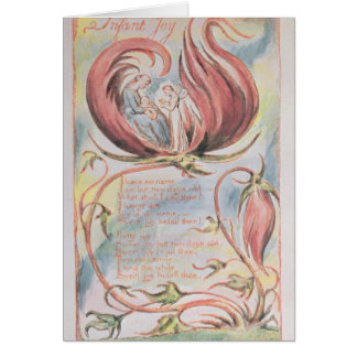 Tarjeta Canciones de la inocencia; Alegría infantil, 1789