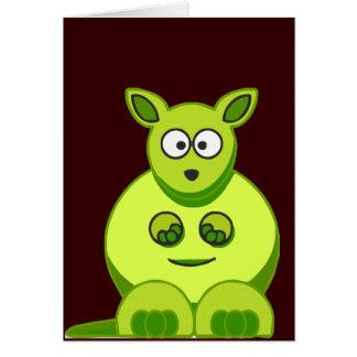 Tarjeta Canguro del kiwi