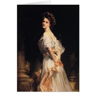 Tarjeta Cantante Sargent- Nancy Astor de Juan