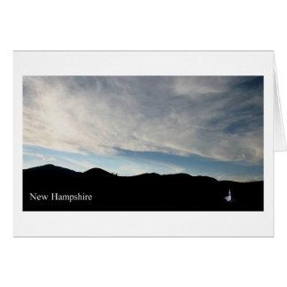 Tarjeta Capilla de New Hampshire Wonalancet
