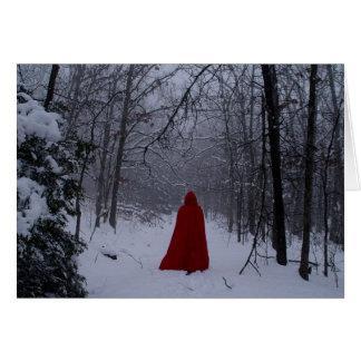 Tarjeta Capilla roja