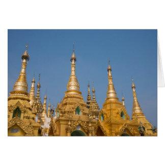 Tarjeta Capillas budistas