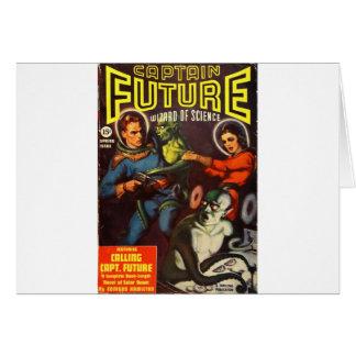 Tarjeta Capitán Future y condenación solar