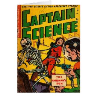 Tarjeta Capitán Science