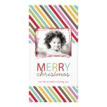 Tarjeta caprichosa de la foto del navidad de la di tarjetas fotograficas