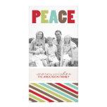 Tarjeta caprichosa de la foto del navidad de la di tarjetas fotograficas personalizadas
