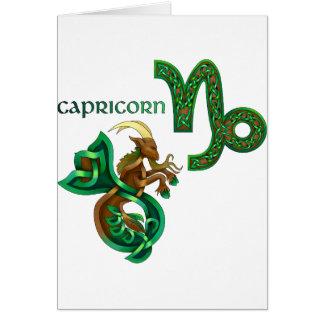 Tarjeta Capricornio