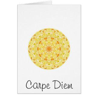 Tarjeta Carpe Diem