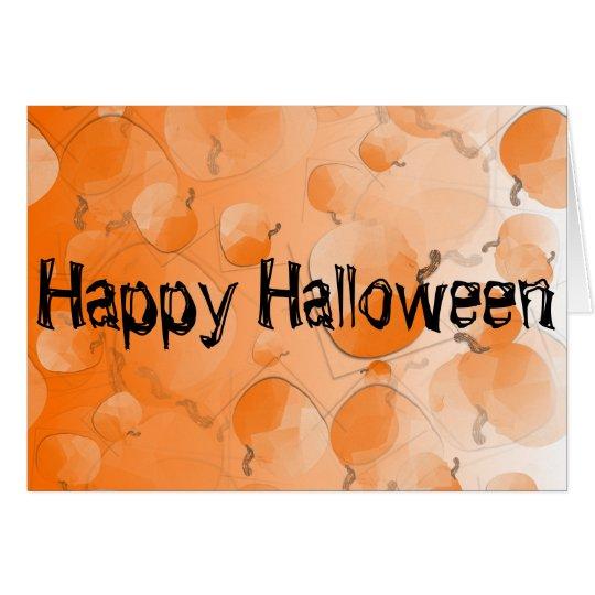 Tarjeta Carte de vœux Happy Halloween