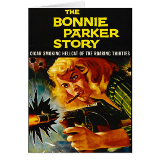 Tarjeta Cartel de película 1958 del crimen