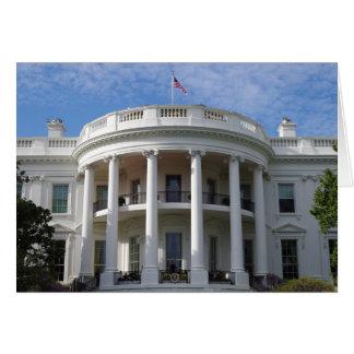 Tarjeta Casa Blanca del Washington DC