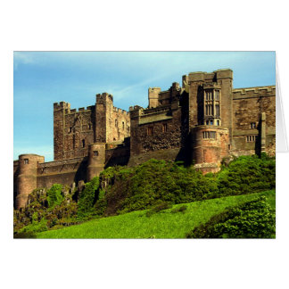 Tarjeta Castillo de Bamburgh, Northumberland, Inglaterra