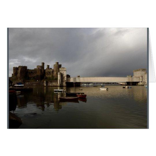Tarjeta Castillo de Conwy