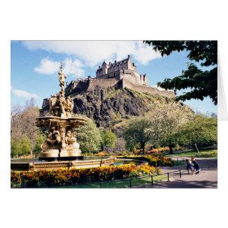 Tarjeta Castillo de Edimburgo