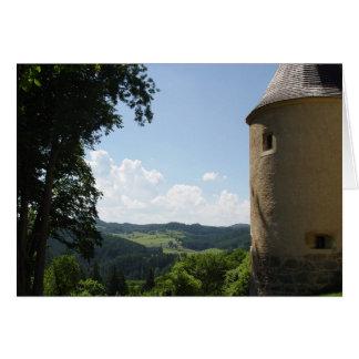 Tarjeta Castillo de Rappottenstein