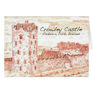 Tarjeta Castillo Notecard de Crowley
