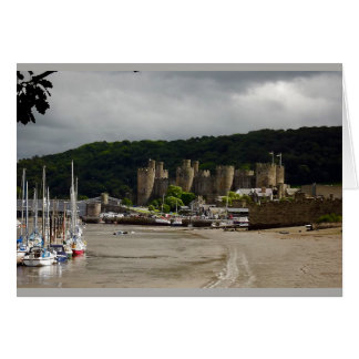 Tarjeta Castillo País de Gales del norte de Conwy