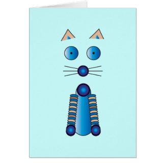 Tarjeta CAT azul